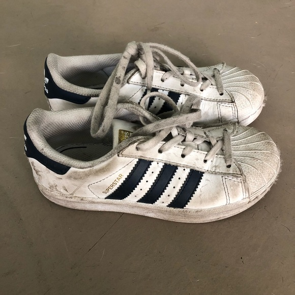 Girls Adidas Superstar ortholite sneakers!!!